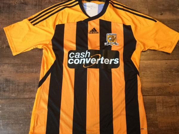 2011 2012 Hull City Home Football Shirt Adults Large